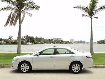 2007 TOYOTA CAMRY HYBRID  XLE LOADED 1OWN CLEAN CARFAX 59K MILES MUST SELL!