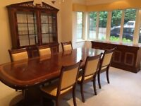 Charles Barr Grandeur Collection Dining Suite