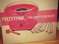 Pink candyfloss machine