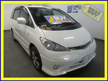 2003 Toyota Estima MCR40 Pearl White 4 Speed Automatic Wagon Cabramatta Fairfield Area Preview