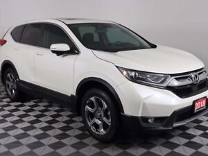 2018 Honda CR-V EX w/MOONROOF, HEATED SEATS, BACKUP CAMERA. ONE