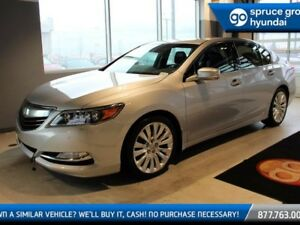 2014 Acura RLX V6 LEATHER 4 WHEEL STEERING