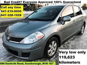2007 Nissan Versa 1.8 S Auto Certified E-Test FINANCE WARRANTY