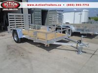 6 X 10 ALL ALUMINUM TRAILER -NO RUST, BUILT TO HAUL 2500LBS