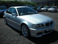 BMW 3 SERIES 3.0 330CI SPORT 2d COUPE E46 AUTO 228 BHP (silver) 2003