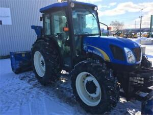 TRACTEUR 4X4 NEW HOLLAND T4030 TRANS: 16/16 INV.
