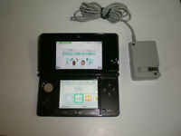 *****BLACK NINTENDO 3DS IN THE BOX + MANY GAMES AVAILABLE*****