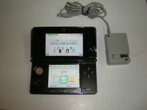*****BLACK NINTENDO 3DS + MANY GAMES AVAILABLE*****