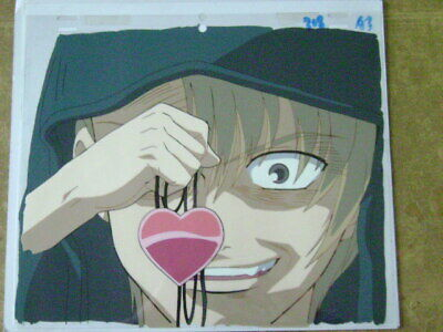 JUBEI CHAN THE NINJA GIRL ANIME PRODUCTION CEL 10