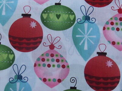 Fabric christmas ornament  print M