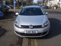 Volkswagen GOLF 1.6 TDI S 5dr, 2010 model, Full MOT, FSH, Low mileage