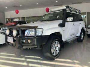 2014 Nissan Patrol Y61 GU 9 ST Titanium White 4 Speed Automatic Wagon Ringwood Maroondah Area Preview