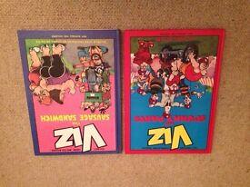 Comedy books x 2 Viz Annuals 1990 & 1991