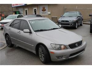 2004 Lexus IS 300 5 Speed Manual LOW LOW KM