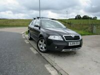 SKODA OCTAVIA 2.0 SCOUT TDI 5d 2009 6 Months RAC Parts And Labour Warranty Years MOT