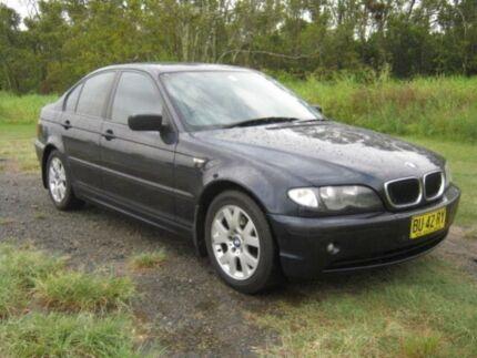 2002 BMW 318I 3 series E 46 Blue Sedan