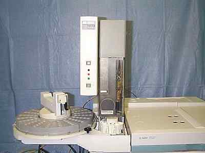 Gc Autosampler Hewlett Packard 7673c Includes Tower Sample Tray Controller