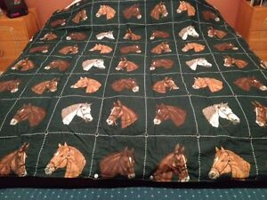 *Price Reduced* Two Brand New Horse Comforters