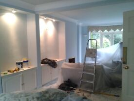 Painter, decorator and handyman.