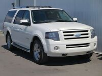 2008 Ford Expedition MAX Limited 4X4 Leather Sunroof DVD 7 Pass!