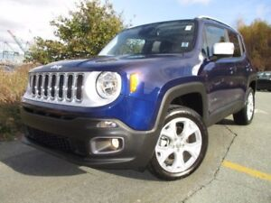 2017 Jeep RENEGADE Limited (JUST REDUCED TO $30777!! 4X4, LEATHE