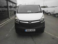 Vauxhall Vivaro L2 2900 1.6Cdti 115Ps H1 Van DIESEL MANUAL WHITE (2015)