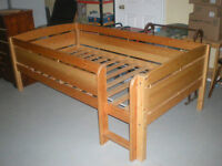 Solid Wooden Childs Bed