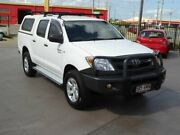 2005 Toyota Hilux GGN25R SR (4x4) White 5 Speed Automatic Dual Cab Pick-up Brendale Pine Rivers Area Preview
