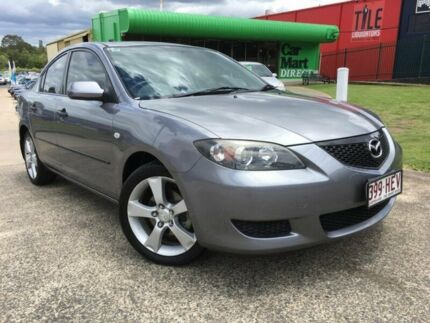 2004 Mazda 3 BK Neo Grey 4 Speed Auto Activematic Sedan Slacks Creek Logan Area Preview