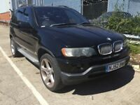 2002 BMW X5 4.4 V8 SPORT AUTOMATIC PETROL 4X4 4WD POWERFUL MOT SPACIOUS JEEP BLACK N ML 7 SERIES