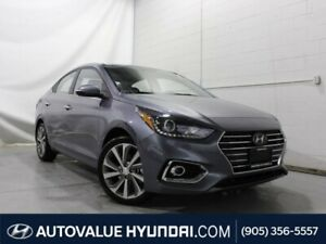 2019 Hyundai Accent Ultimate | HEATED FRONT SEATS | BACKUP CAMER