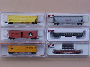 N scale Atlas, Athearn + other train model railroad freight cars Kingston Kingston Area image 1