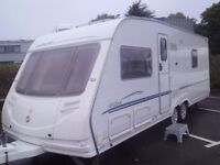 Sterling Elite Searcher FIXED BED AND REAR WASHROOM. 2006