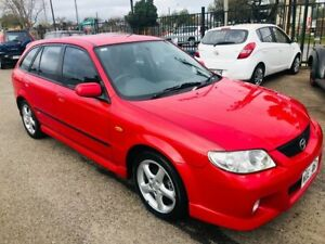 2001 Mazda 323 Astina SP20 Red 5 Speed Manual Hatchback Woodville Park Charles Sturt Area Preview
