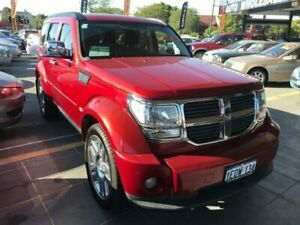 2007 Dodge Nitro KA SXT Red 5 Speed Automatic Wagon St James Victoria Park Area Preview