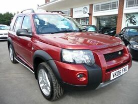 LAND ROVER FREELANDER 2.0 TD4 FREESTYLE 5d AUTO 110 BHP (red) 2006