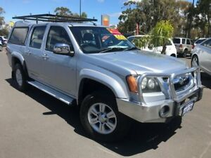 2008 Holden Colorado RC LT-R Crew Cab 4x2 Silver 5 Speed Manual Utility East Bunbury Bunbury Area Preview