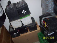 USED AUTOMOTIVE BATTERIES.CHARGED/TESTED READY TO GO!