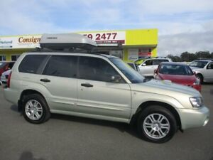 2004 Subaru Forester 79V MY04 XT AWD Gold 4 Speed Automatic Wagon Kedron Brisbane North East Preview