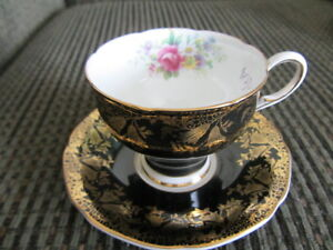 Three Vintage Cups and Saucers   -priced individually
