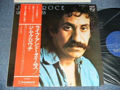 JIM CROCE  Japan 1975 RJ-7030 NM LP+Obi LIFE AND TIMES