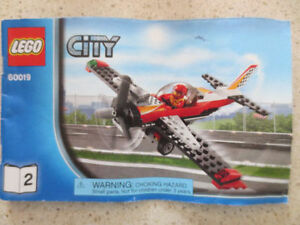 LEGO City 60019 Stunt Plane Toy Building Set