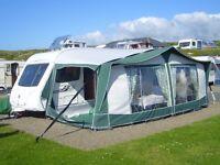 BRADCOT Classic 960 caravan awning in v.g.c.