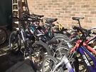 lots bikes  viewing I am in Canada Water tube station Jubilee line call me before and when arrive