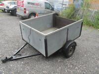 x2 box trailers metal good condition ready to use £100 each