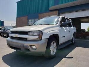 CHEVROLET TRAILBLAZER LTZ 2003*****RECONSTRUIT*****