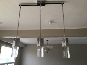 Hanging Pendants Wired Lights...$65/=....416 473 1859