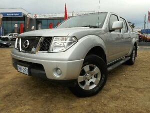 2011 Nissan Navara D40 ST (4x4) Silver 5 Speed Automatic Dual Cab Pick-up Belconnen Belconnen Area Preview