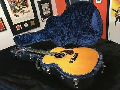 Martin OM-28 Herringbone Vintage Guitar 2002 With Calton Case BEAUTIFUL SOUND