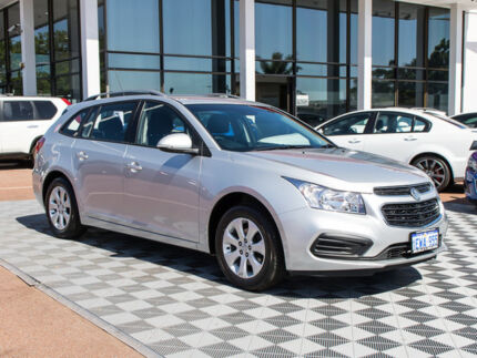 2015 Holden Cruze JH Series II MY15 CD Sportwagon Silver 6 Speed Sports Automatic Wagon